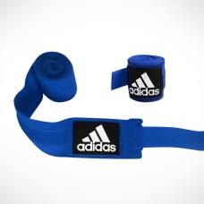 Боксерские бинты Adidas (синие, ADIBP031-BLUE)