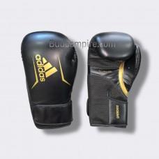 """Боксерские перчатки Adidas """"Speed 100'' (черно/золотой, ADISBG100)"""