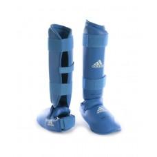 Защита голени и стопы Adidas WKF (синий, 661.35)